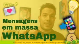Mensagens no WhatsApp